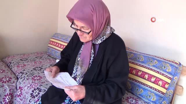 74 Yaşındaki Melek Nine, Okuma-yazma Öğrenmek İçin ...