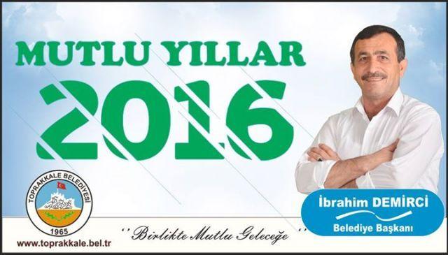 Başkanımız İbrahim DEMİRCİ: Yeni Yıl Yeni