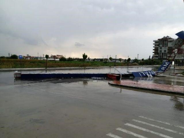 Kadirli'de Şiddetli Yağış