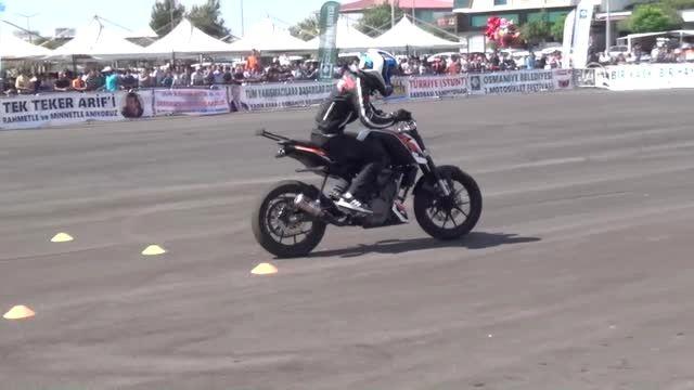 Osmaniye Belediyesi 2. Motosiklet Festivali Sona Erdi