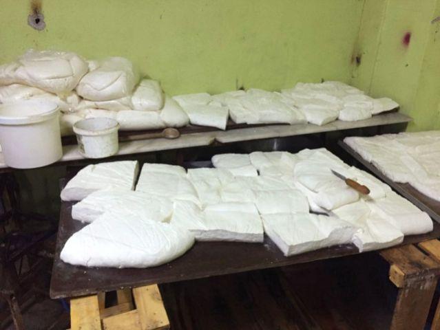 Osmaniye'de 440 Kilo Kaçak Peynir Ele Geçirildi
