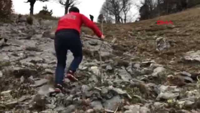 Osmaniye-Düldül Dağı Zirvesinde Mahsur Kalan Vatandaş ...