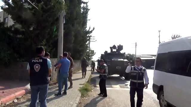 Osmaniye HDP İl Binasında arama (3)