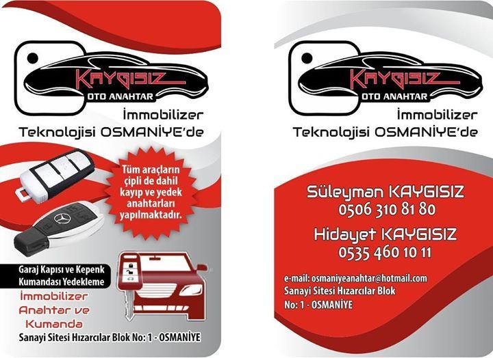 İmmobilizer elektronik oto anahtar çip carkey Osmaniye