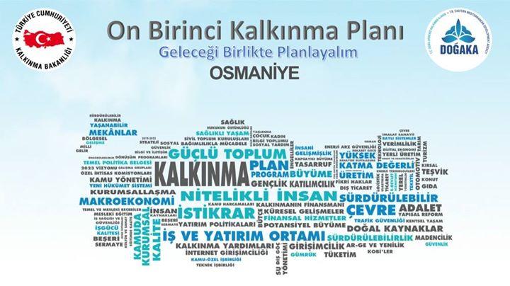 Osmaniye 11. Kalkınma Planı İstişare Toplantıları Kamu