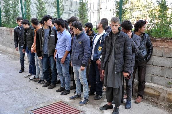 Osmaniye'de 12 Günde, 148 Düzensiz Göçmen Yakaladı