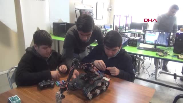 Osmaniye Meslek Lisesi Öğrencileri, Robotik Kodlama ...