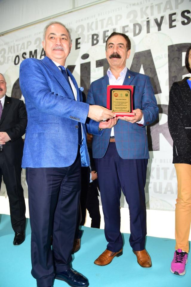 Osmaniye'nin Ulusal Boyutta Üçüncü Kitap Fuarı Açıldı